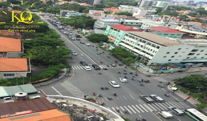 view từ the galleria office building